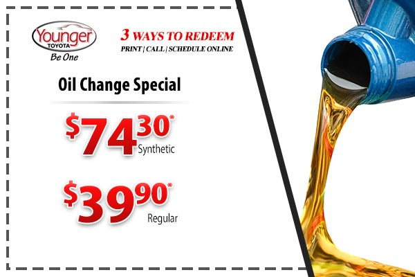 Oil Change Special >> Oil Change Special Younger Toyota Specials Hagerstown Md